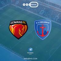 LE MANS FC - US CONCARNEAU